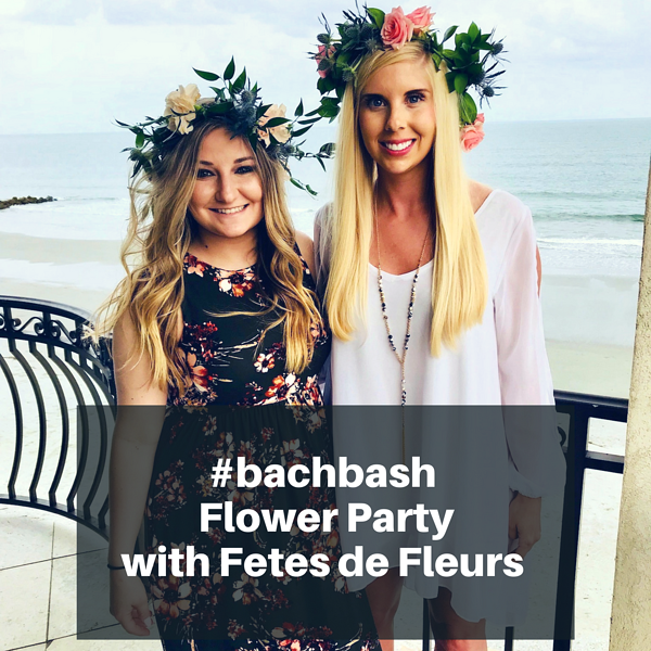 #bachbash Flower Party with Fetes de Fleurs