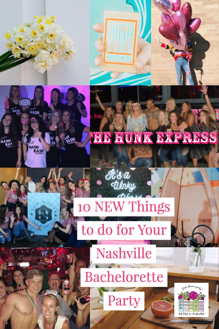 10 fun and new things to do for your nashville bachelorette party weekend