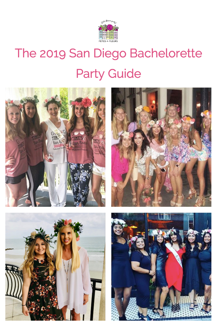 2019 san diego bachelorette party guide