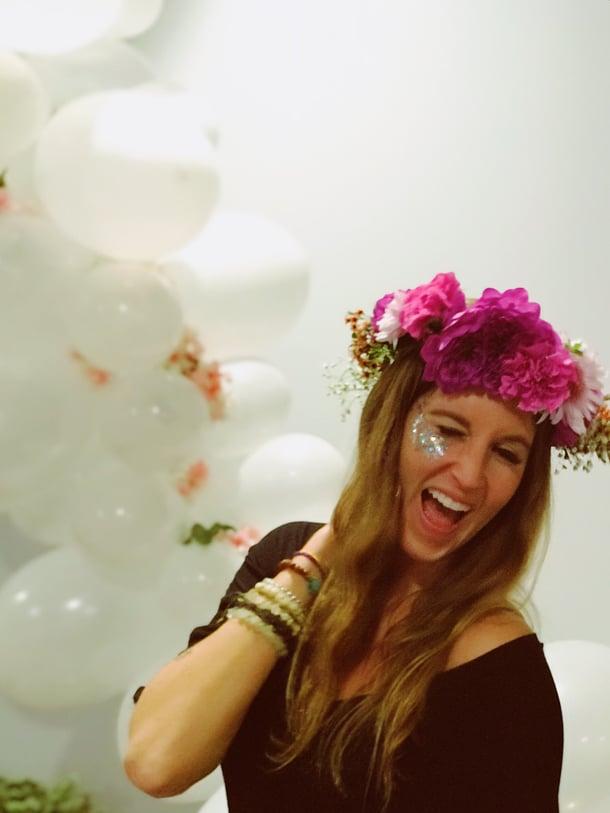 flower parties for bachelorette parties