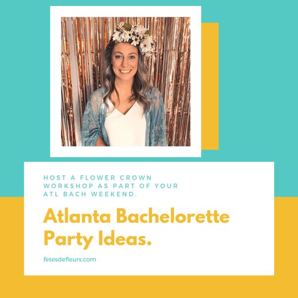 Atlanta Bachelorette Party Ideas.