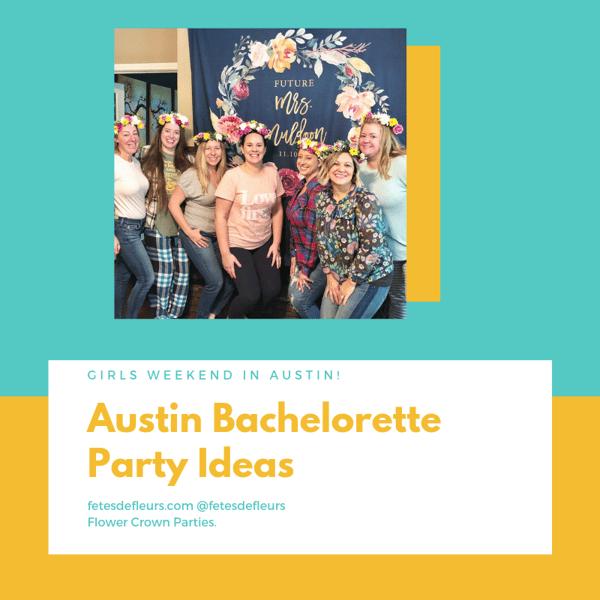 Austin Bachelorette Party Ideas
