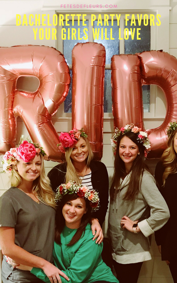 Bachelorette party favors your girls will love