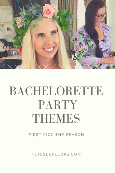 Bachelorette themes
