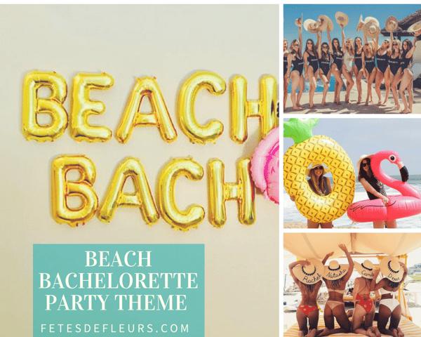Beach Bachelorette Party theme