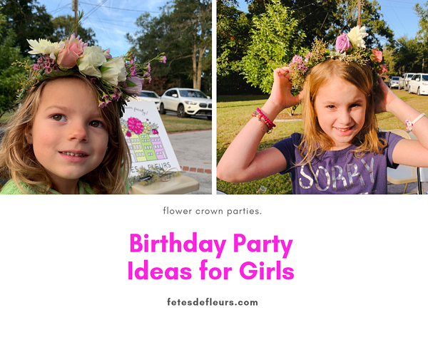Birthday Party activities for Girls