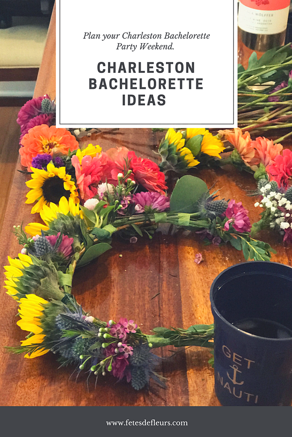 Charleston bachelorette ideas