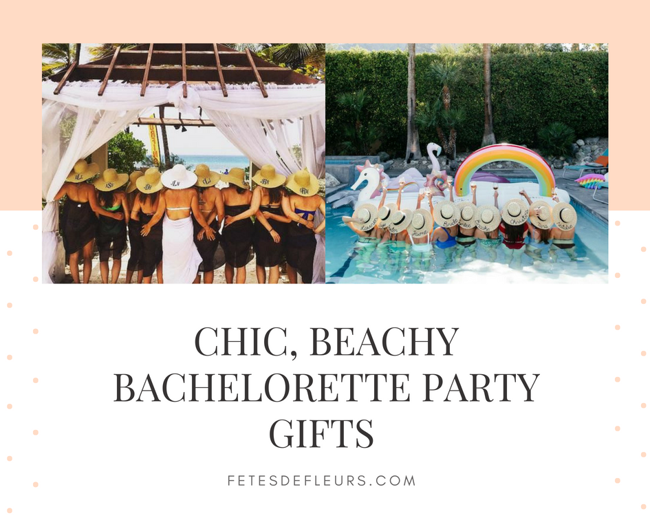 Chic, Beachy Bachelorette Party Gifts