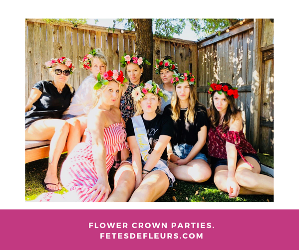 austin texas Flower Crown Workshops.