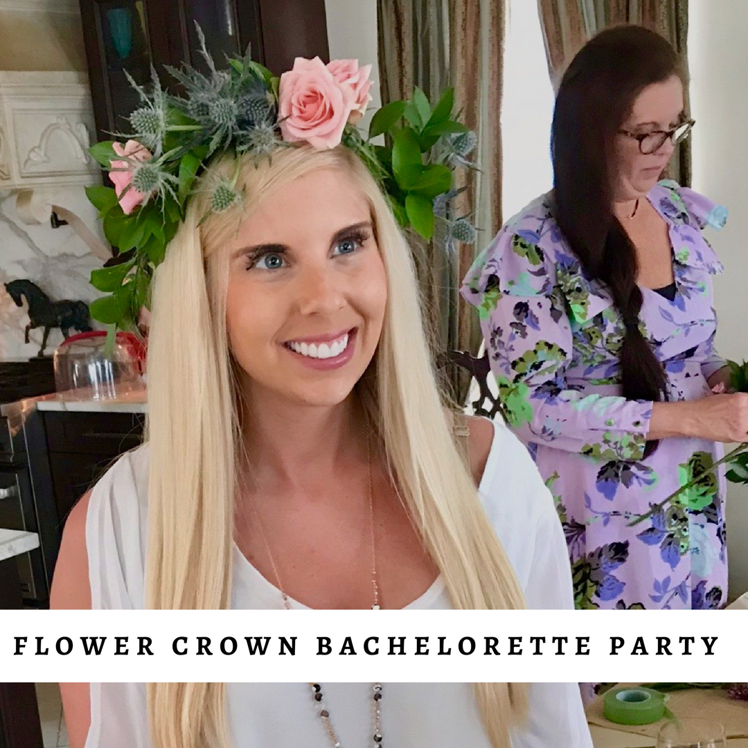 Flower Crown bachelorette party
