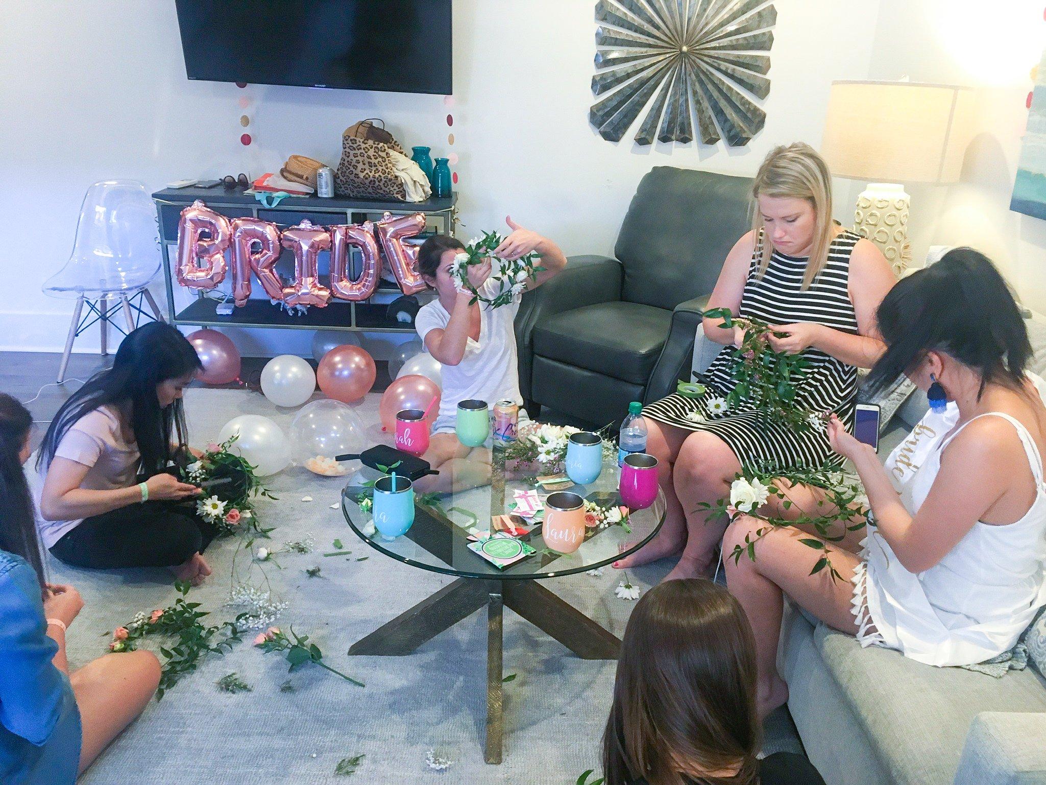 bachelorette party ideas in Charleston, SC