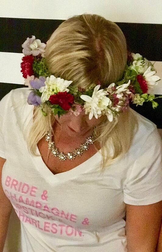 bridal flower crowns