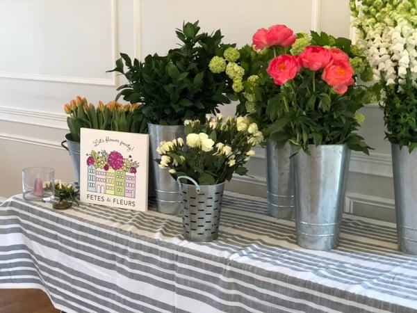 mothers day floral arranging workshop