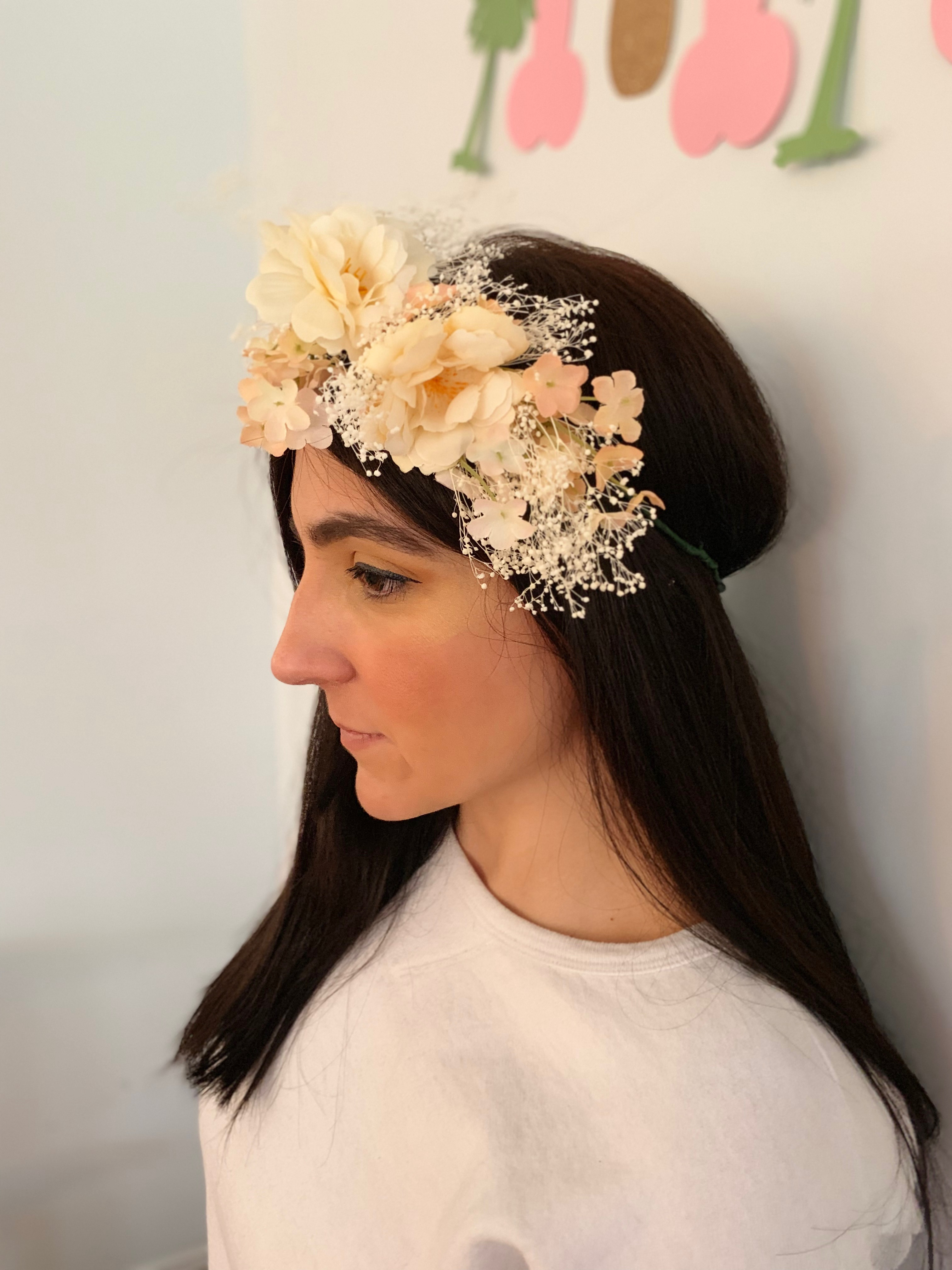 silk flower crowns