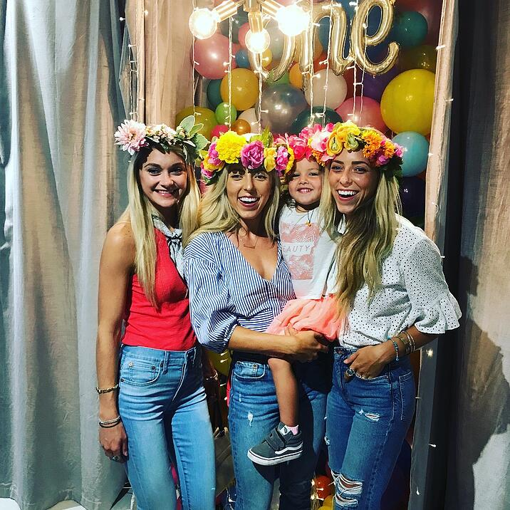 flower crown party