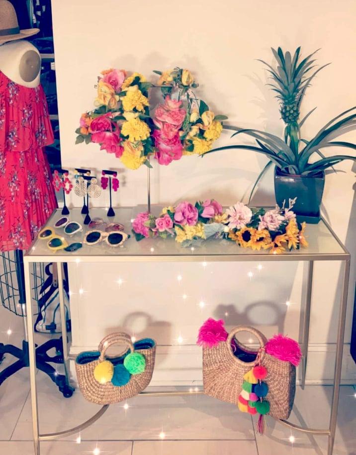 flower crown bar