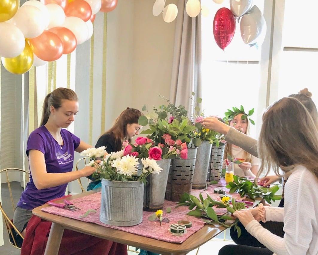 austin bachelorette party ideas with flower crowns