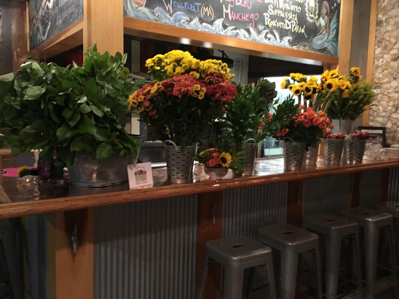 fall floral arranging class