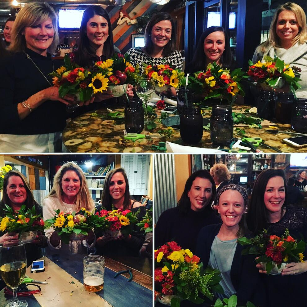 thanksgiving floral arrangements