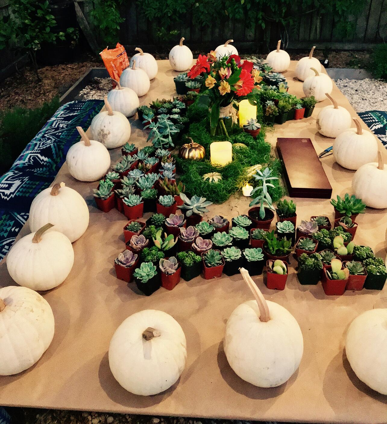 fall garden party fun