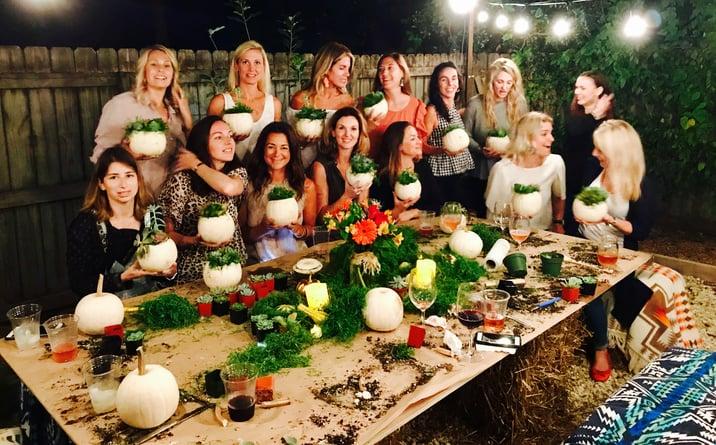 fall garden party