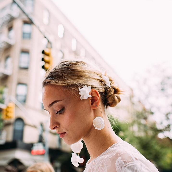 real floral jewelry for weddings