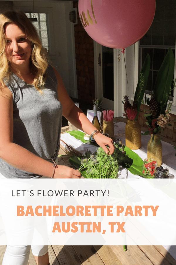Let's flower party austin tx