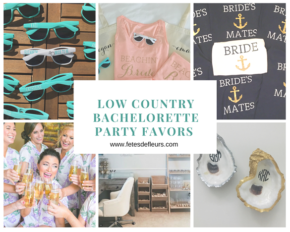 Low Country Bachelorette Party Favors