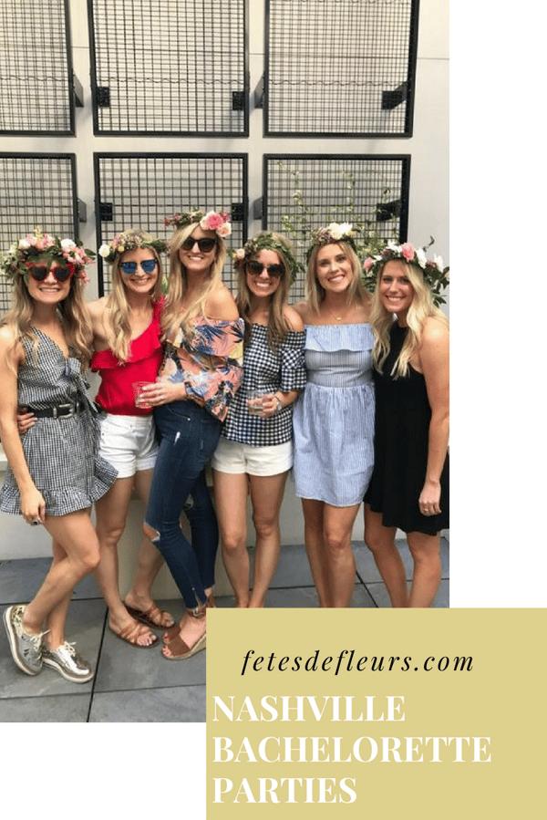 Nashville Bachelorette Parties