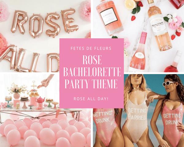 Rose bachelorette party theme