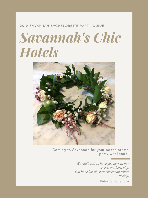 Savannah's Chic Hotels