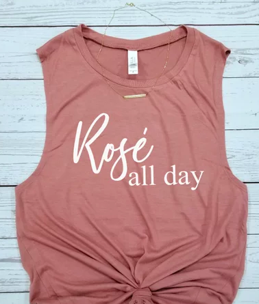 rose all day tshirts