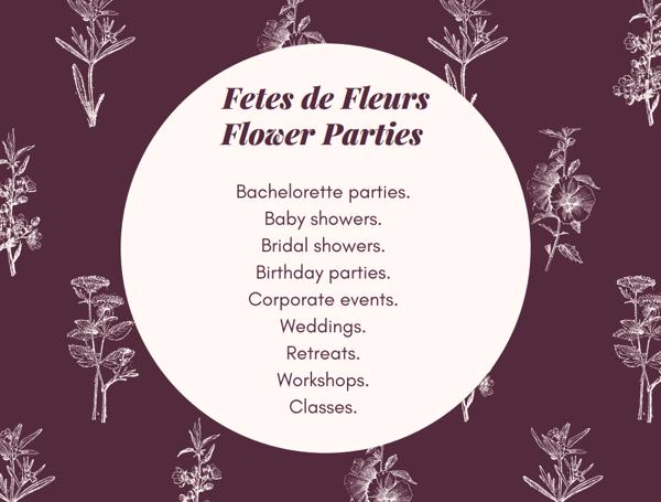 what is fetes de fleurs