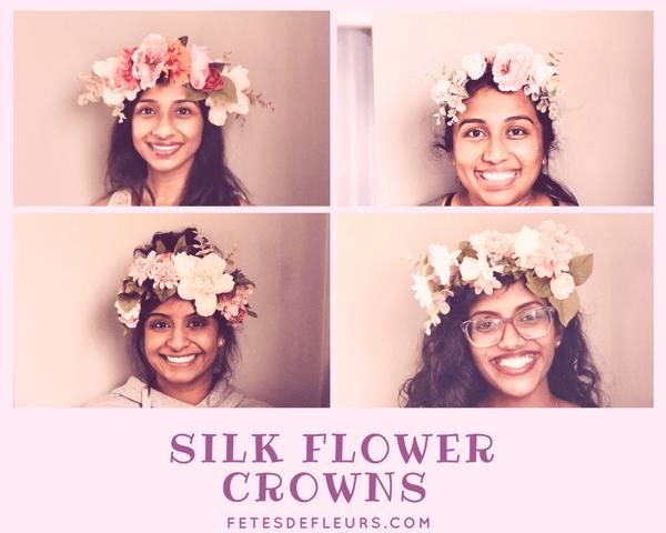 Silk Flower Crowns
