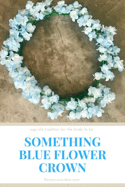 Something Blue Flower Crown