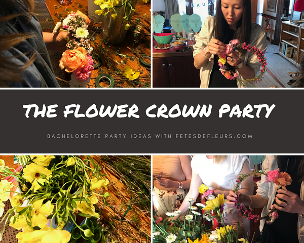 The Flower Crown Party