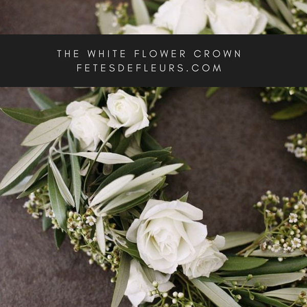 The White Flower crown
