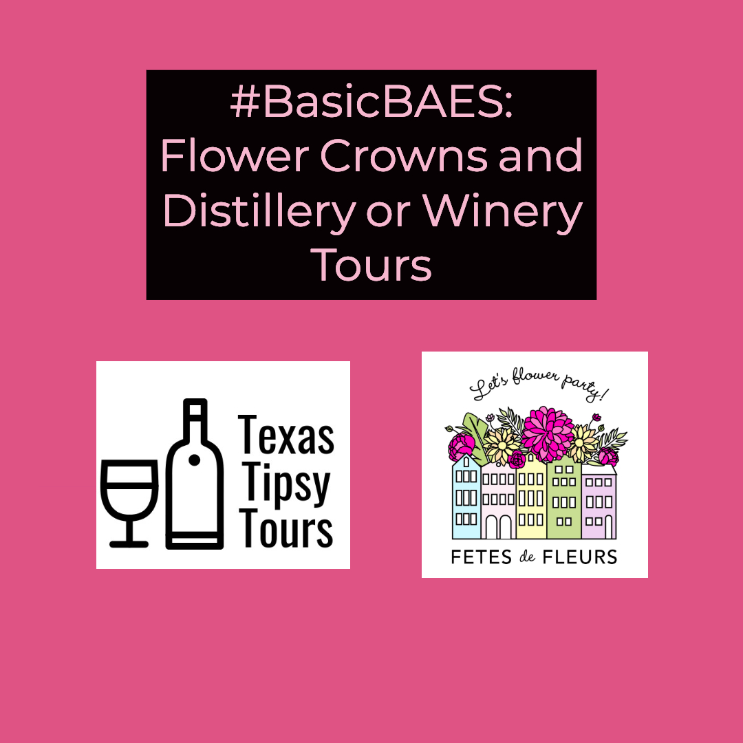 austin bachelorette party ideas - winery tour and flower crowns