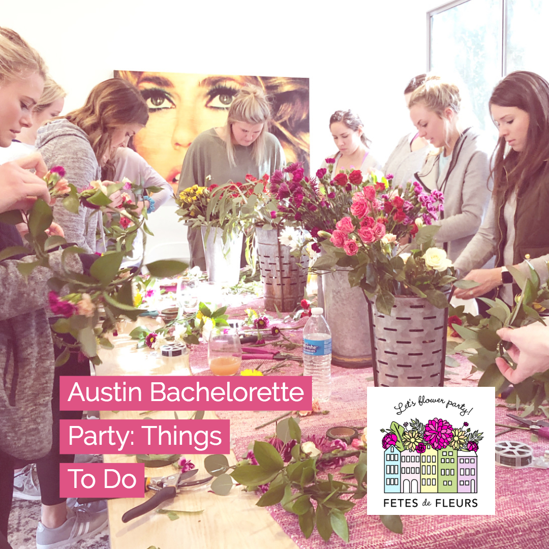 austin bachelorette party things to do
