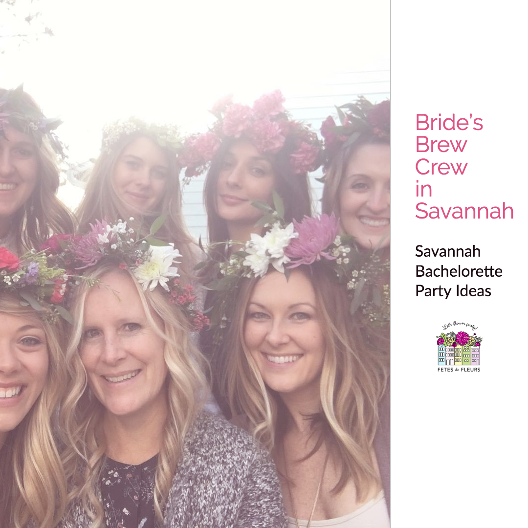 bachelorette party ideas in savannah georgia