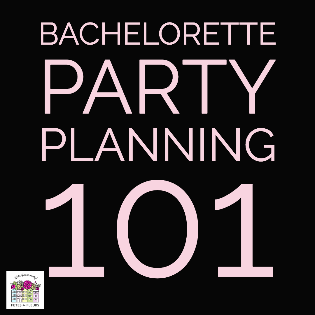 bachelorette party planning