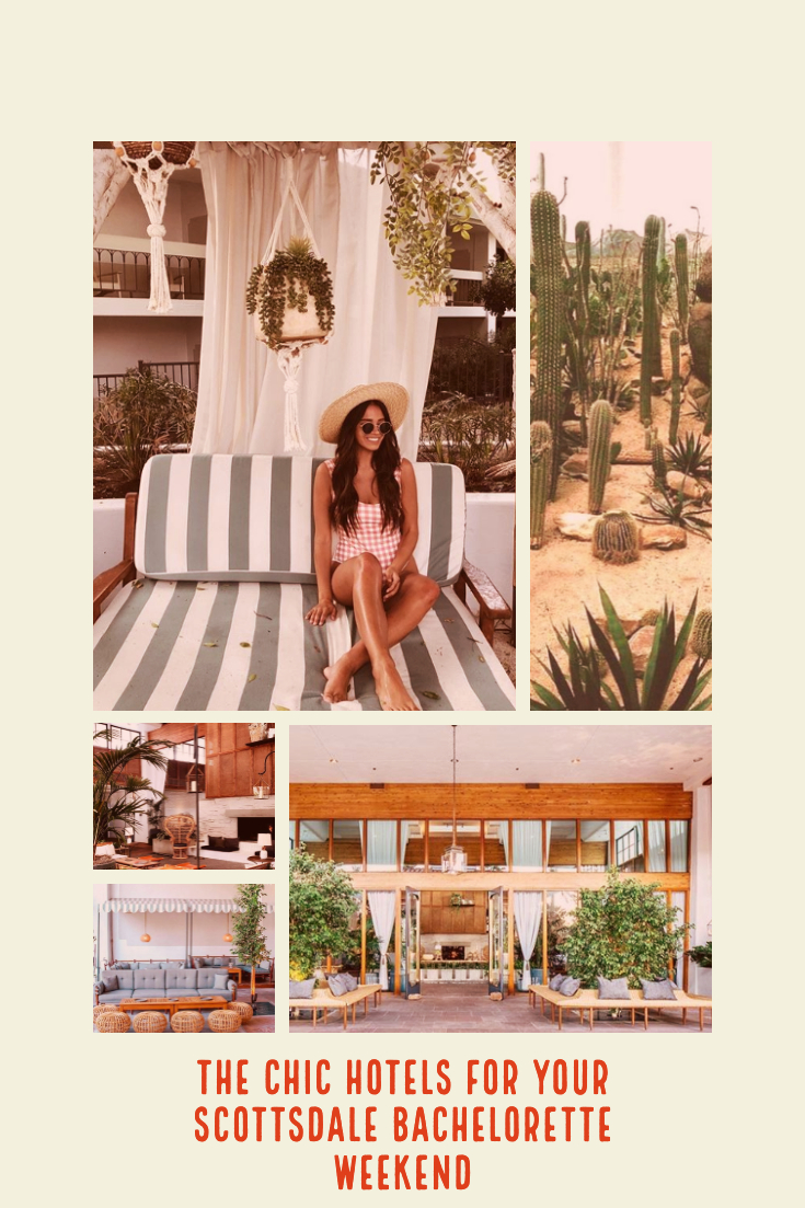 chic hotels for your scottsdale arizona bachelorette party