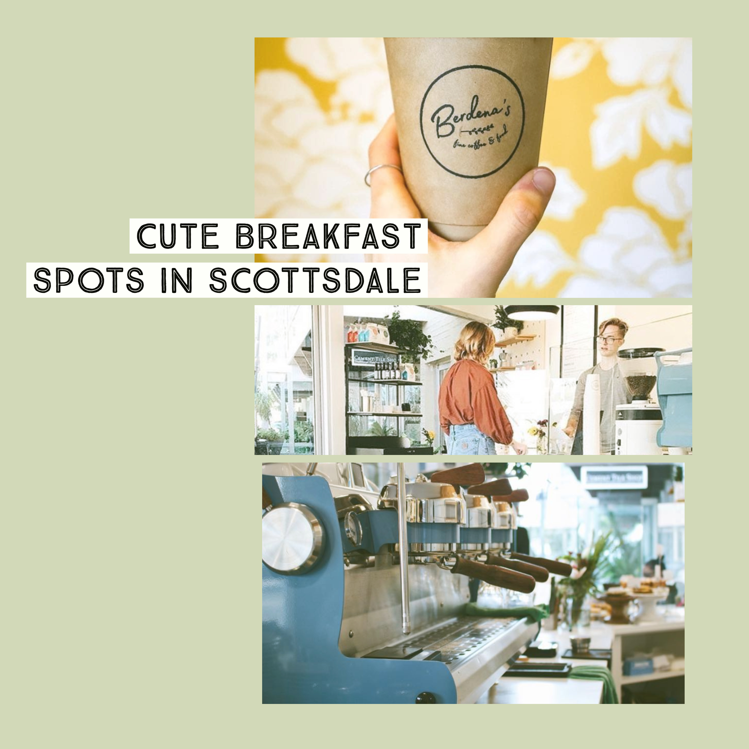 cute breakfast spots in scottsdale arizona for your bachelorette weekend