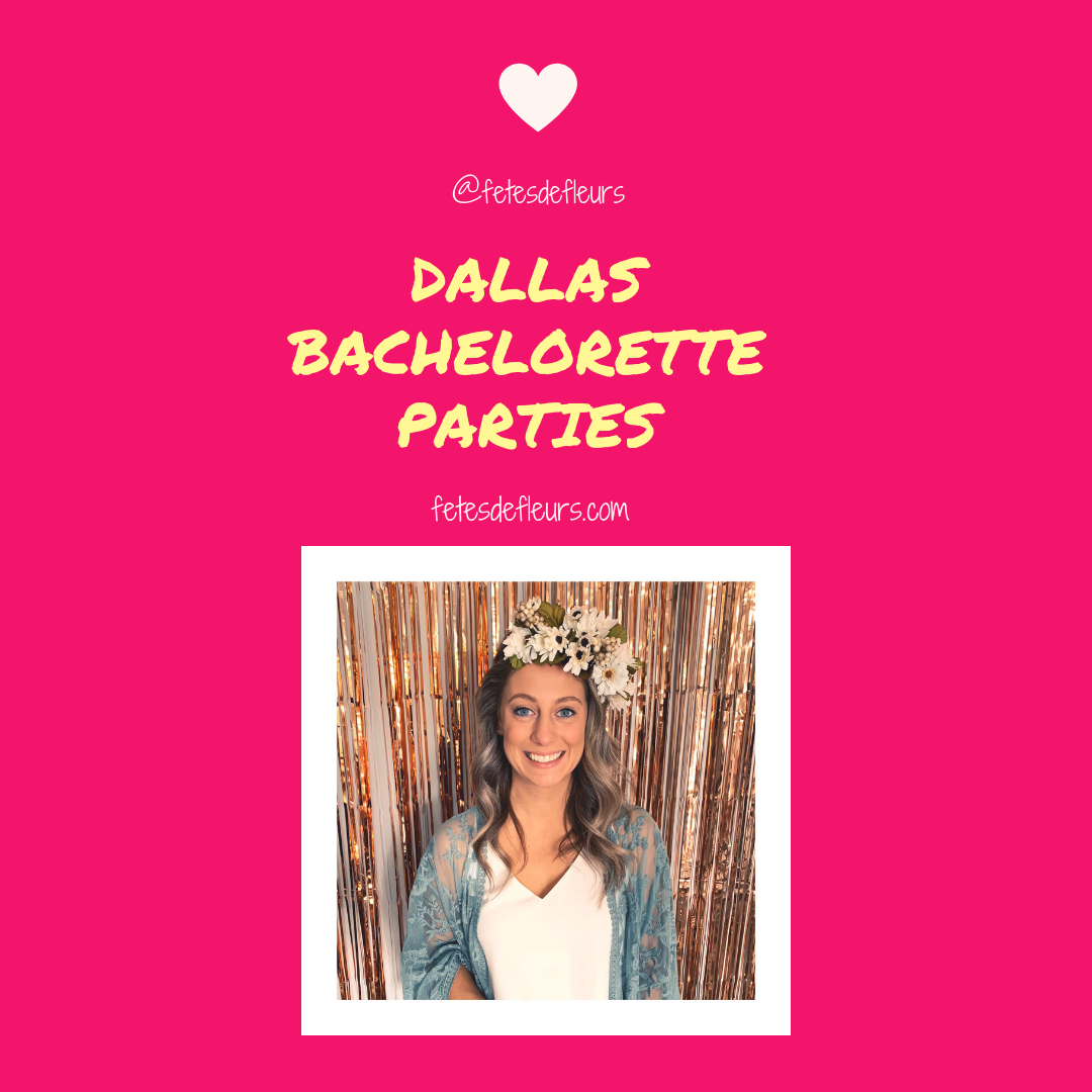 dallas flower crown parties