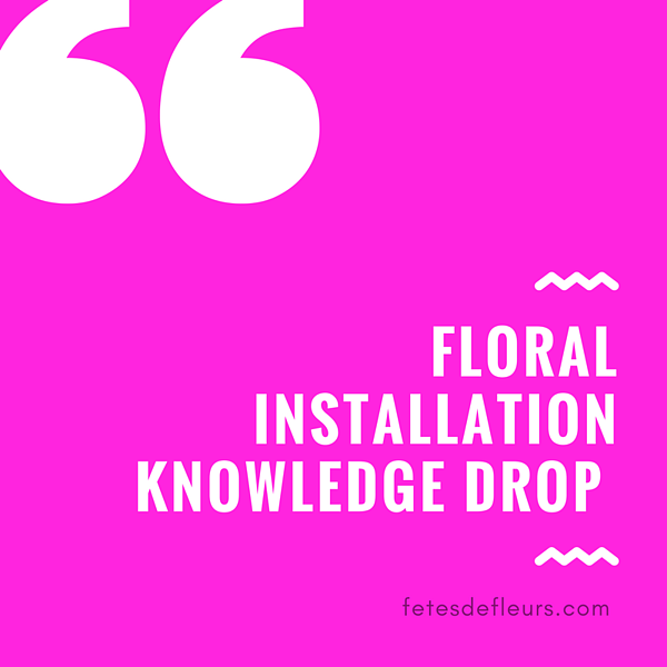 floral installation guide