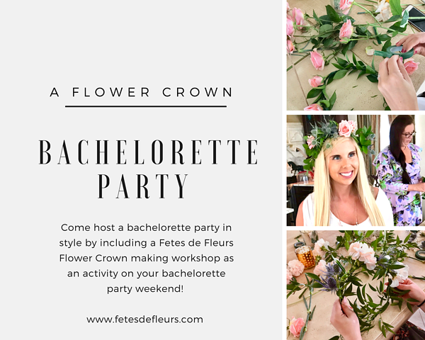 flower crown parties