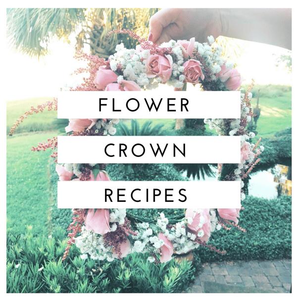 flower crown recipes