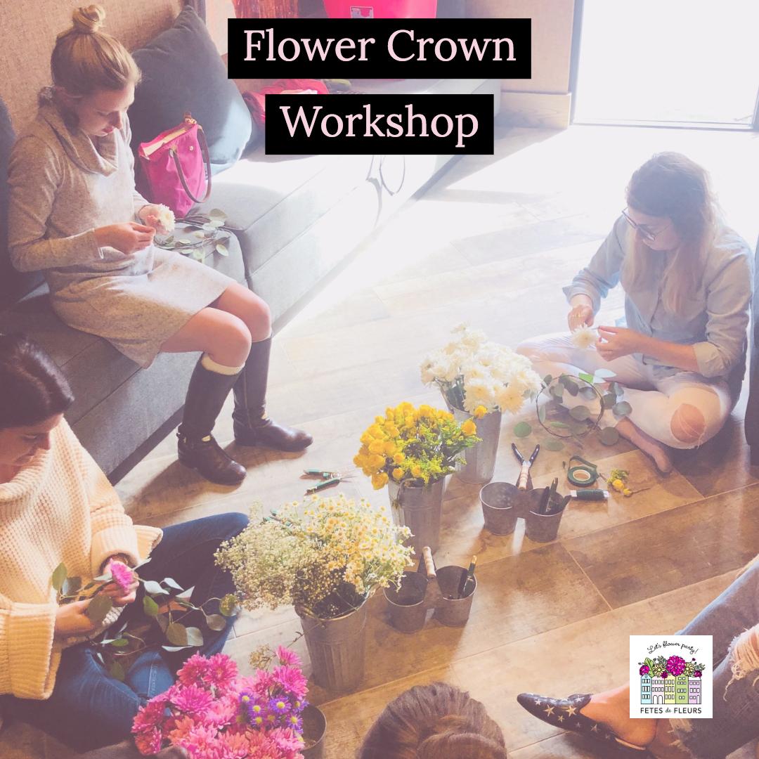 flower crown workshop dallas tx