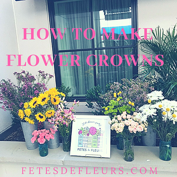 how to make flower crowns -1