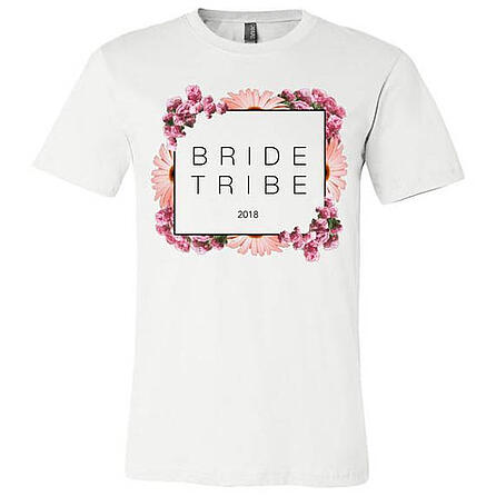 floral bachelorette party t shirts
